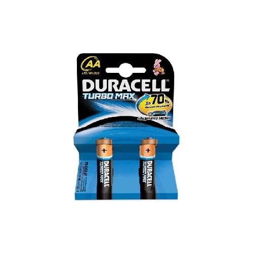 Батарейка DURACELL Turbo LR6/AA алкалиновая (блистер)