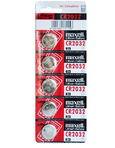 Батарейка MAXELL CR2032 алкалиновая (блистер)