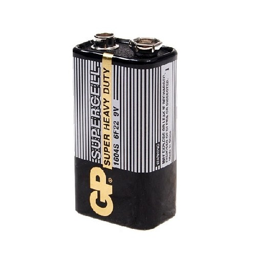 Батарейка GP крона/6F22 9V солевая (тех/упаковка)