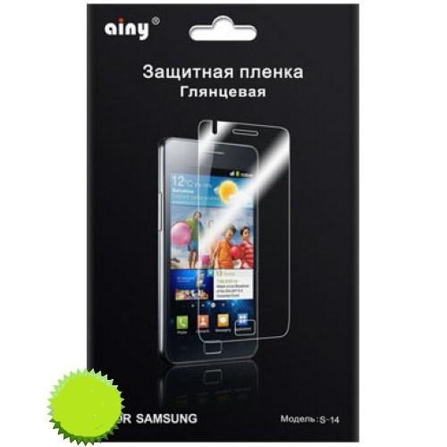 Защитная пленка AINY для Samsung Galaxy Note II N7100 глянцевая