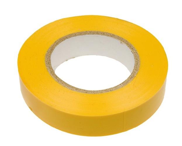 Изоляционная лента PREMIER 0.13мм х 19мм х 25м желтая