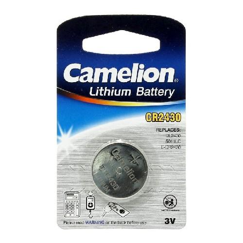 Батарейка CAMELION CR2430 3V литиевая (блистер)