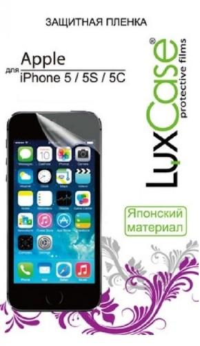 Защитная пленка LUX для iPhone 5 глянцевая