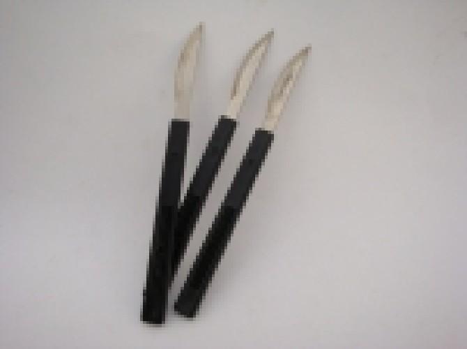 Скальпель технический с пластиковой ручкой черный (тех/упаковка)