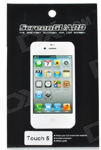 Защитная пленка SCREEN GUARD для iPad Touch5 глянцевая