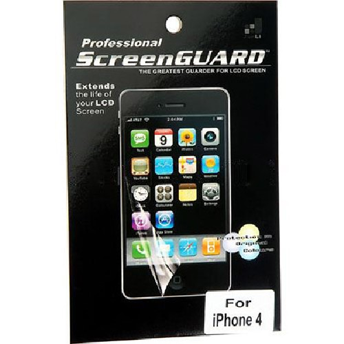 Защитная пленка SCREEN GUARD для iPhone 4G глянцевая