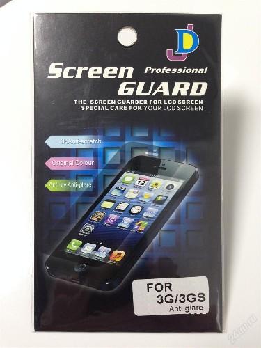 Защитная пленка SCREEN GUARD для iPhone 3G матовая