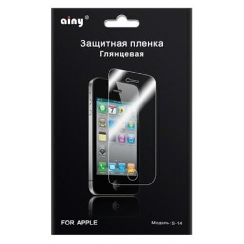 Защитная пленка AINY для iPhone 5 глянцевая