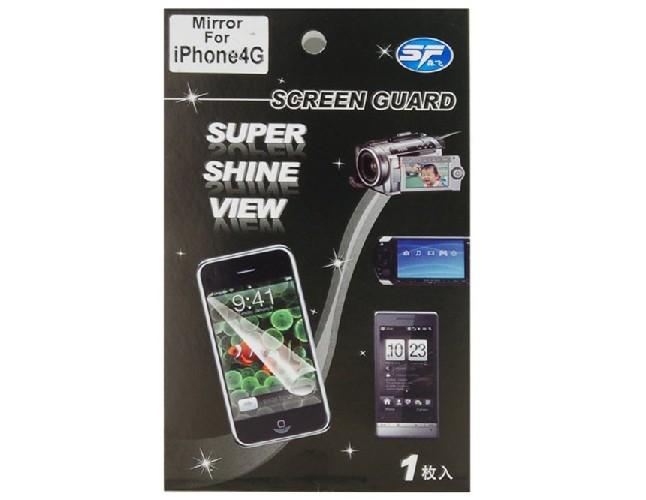 Защитная пленка SCREEN GUARD для iPhone Mirror 4GB/8GB/16GB зеркальная