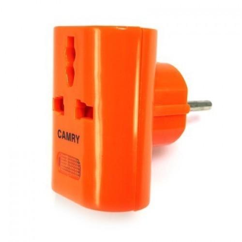 Адаптер сетевой универсальный CAMRY KM162 16A 250V оранжевый (тех/упаковка)