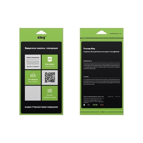 Защитная пленка AINY для Nokia Lumia 720 глянцевая