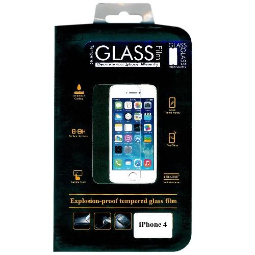 Защитное стекло GLASS для iPhone 4/4S