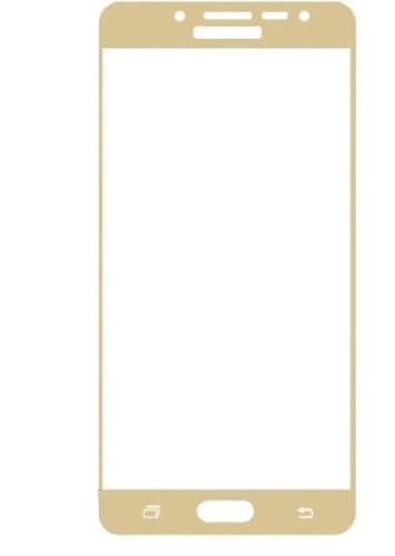 Защитное стекло GLASS для Samsung S4 i9500 зеркальное 0.26mm золото
