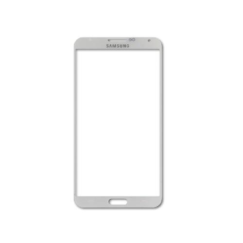 Защитное стекло GLASS для Samsung Note 3 N9000 зеркальное 0.26mm серебро