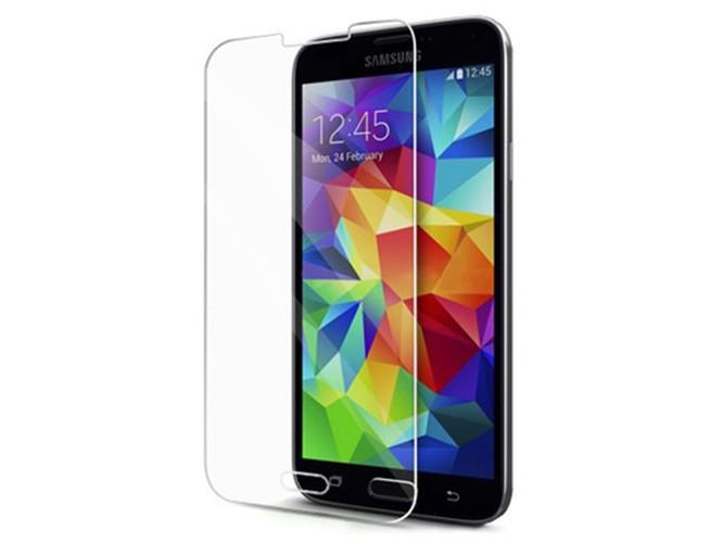 Защитное стекло GLASS для Samsung Galaxy S5 G900F зеркальное 0.26mm золото