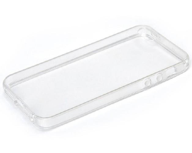 Накладка для iPHONE 5G/5S силиконовая прозрачная