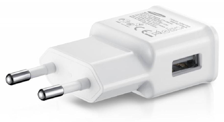 Адаптер сеть-USB SAMSUNG TRAVEL ADAPTER ETAOU10IWE 5V 2.0A белый (тех/упаковка)