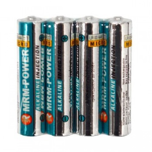 Батарейка MRM-POWER LR03 AAA 1.5V алкалиновая (тех/упаковка)