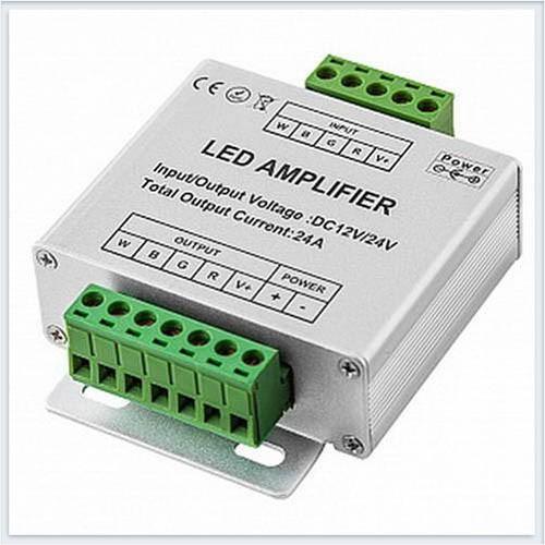 Усилитель для светодиодной ленты RGB блока питания  24A