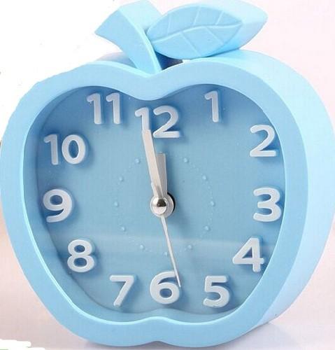 Часы ЯБЛОКО 6846 цвет голубой (коробка)