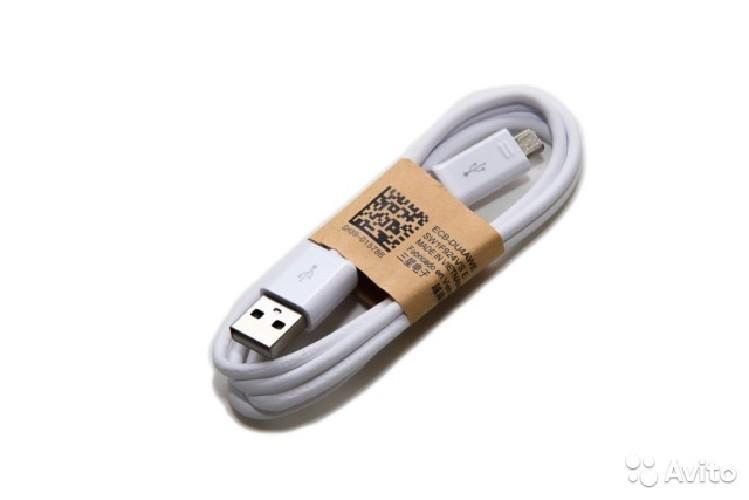 USB-кабель micro-USB GH39-01578B/-01578 белый  (тех/упаковка)