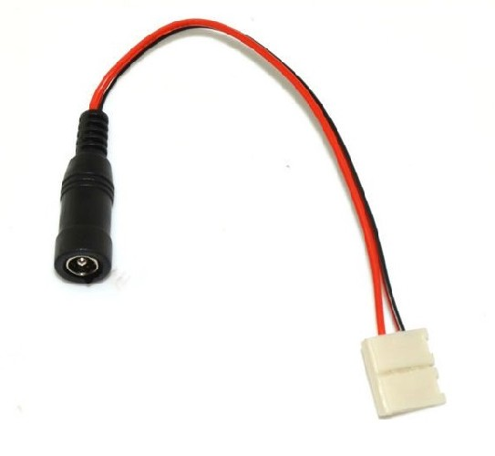 """Коннектор для светодиодной ленты с проводами """"гн"""" для закрытой ленты"""