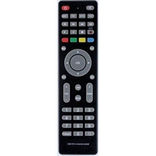 Пульт универсальный HUAYU DVB-T2+3 для рессиверов