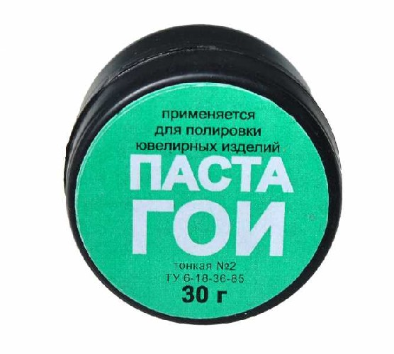 Паста Гои СМОЛХИМ тонкая №2 банка 30г