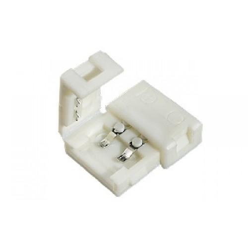 Коннектор для светодиодной ленты двойной без проводов 10мм