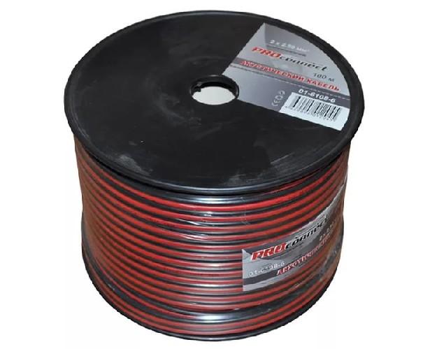 Кабель акустический PROCONNECT красно-черный 2х0.25мм кв.