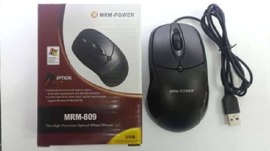 Компьютерная мышка MRM-POWER MRM-809 оптическая проводная