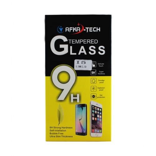 Защитное стекло AFKA-TECH для iPhone 5 0.3мм 2.5D