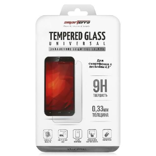 """Защитное стекло TEMPERED GLASS универсальная 5.5"""" 0.3мм 2.5D"""