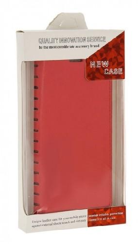 Чехол-книга NEW Case для Xiaomi Redmi 3S красный (блистер)