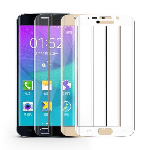 Защитное стекло FULL COVER для Samsung Galaxy S6 0.22mm
