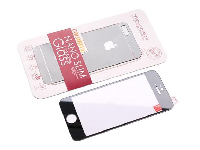 Защитное стекло COLORFUL GLASS для iPhone 5