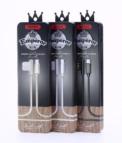 USB-кабель REMAX RC-054i для iPhone 5 черный (металлическая коробка)