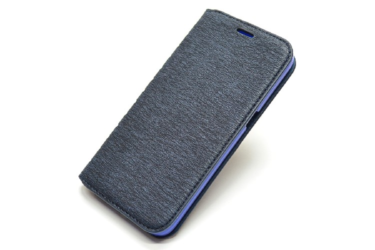 Чехол-книга NEW CASE для Samsung Galaxy S7 черно-синий (блистер)