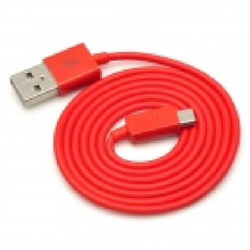 USB-кабель micro-USB резиновый красный