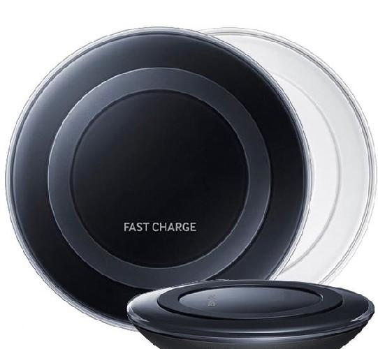 Беспроводная зарядка Fast Charge S7 белый (коробка)