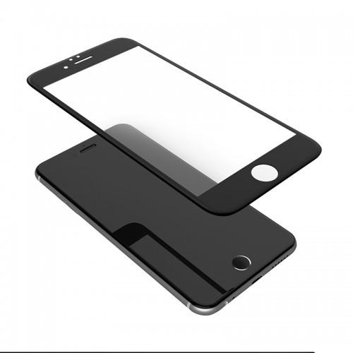 Защитное стекло TEMPERED GLASS для iPhone 6 черный