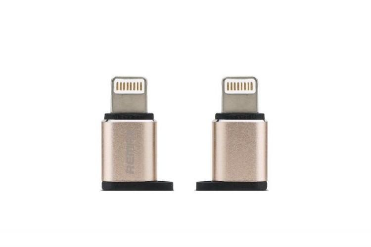 USB-переходник OTG i5-07 для iPhone5/ iPad4/mini iPad розовый