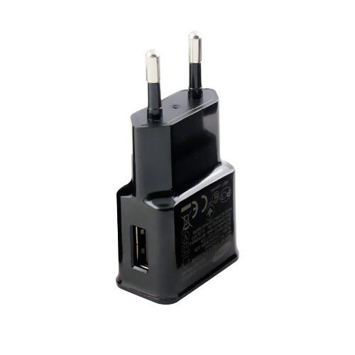 Адаптер сеть-USB SAMSUNG TRAVEL ADAPTER EP-TA10EWE 5.3V 2.0A черный (тех/упаковка)