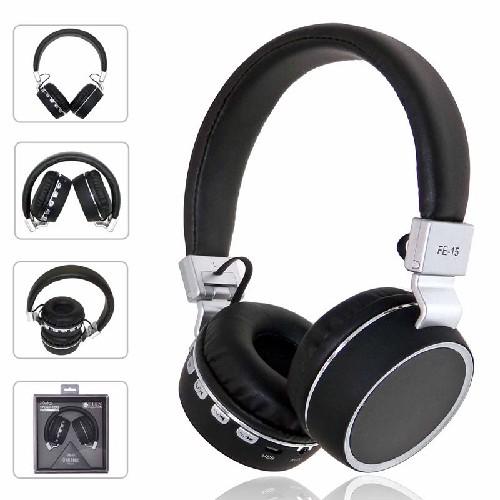 Гарнитура FE-15 Bluetooth беспроводная MP3/iPod джек 3.5 черный