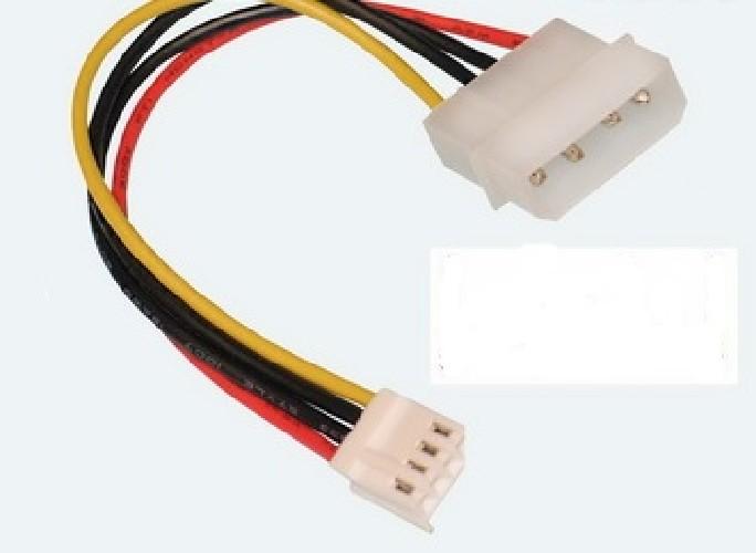 Переходник 4PIN POWER шт/FDD POWER гн 15СМ (GCS-S70)