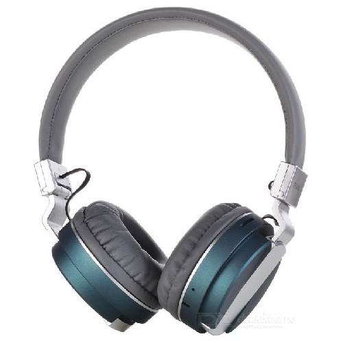 Гарнитура FE-15 Bluetooth беспроводная MP3/iPod джек 3.5 серо-голубая