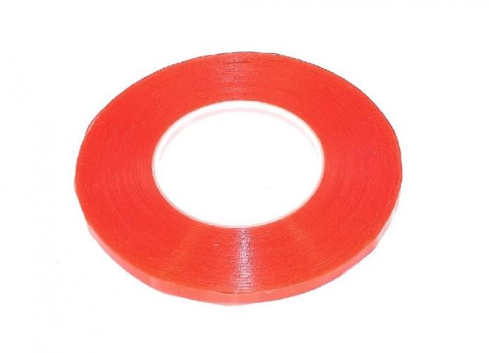 Скотч двусторонний 3M 1мм красный