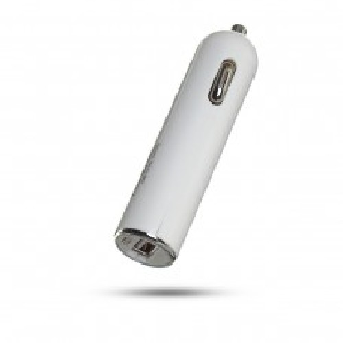 Адаптер авто-USB ROHS JL-J11A 5V 2.4A белый