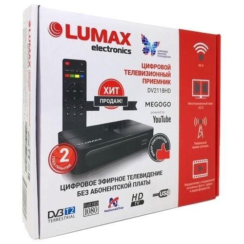 Приставка для цифрового ТВ LUMAX DV 2118 HD