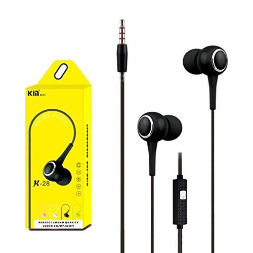 Гарнитура KIN K-998 MP3/iPod джек 3.5 стерео + микрофон серый